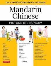 MANDARIN CHINESE PICTURE DICTIONARY - REN, YI - NEW HARDCOVER HARDCOVER