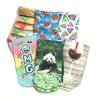 Sublime Designs Unisex Crew Socks, Funny and Cute Styles