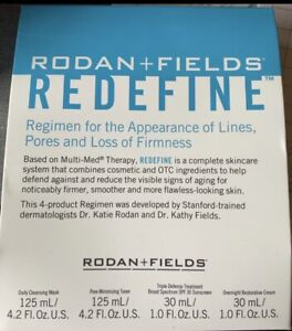 R + F Redefine Regimen, 4 Products Included-see Description