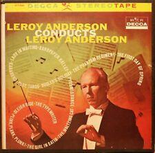 NASTRO IN BOBINA -LEROY ANDERSON CONDUCE LEROY ANDERSON-REEL TO REEL