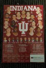 LARGE 2011-12 IU BASKETBALL POSTER