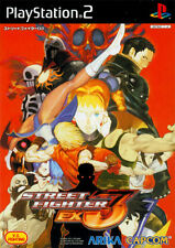 Used PS2 Street Fighter EX3   Japan Import (Free Shipping)