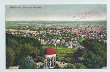 Wiesbaden, Blick vom Neroberg gel. 1919