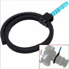 Hand Grip Adjustable Gear Ring Belt For DSLR Camera Follow Focus Zoom Lens