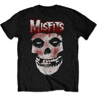 Misfits 'Blood Drip Skull' (Packaged Black) T-Shirt - NEW & OFFICIAL!
