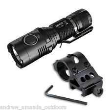 Nitecore MH20 USB Rechargeable LED Flashlight w/ Offset Gun Mount