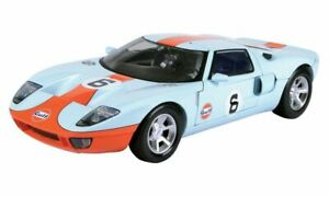 1:12 Ford GT by Motor Max in Gulf Livery 79639