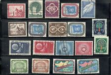 United Nations,,.Collection  20   Stamps., Used.....................B1-AT29-0067