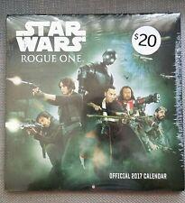 Official Star Wars - Rogue One - 2017 Calendar Brand New