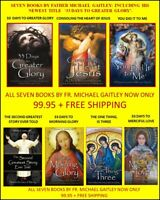 """FR. MICHAEL GAITLEY SEVEN BOOK COMBO:INCLUDING NEWEST """"33 DAYS TO GREATER GLORY"""