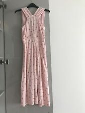 & Other Stories Cross Front Floral Dress Size 6
