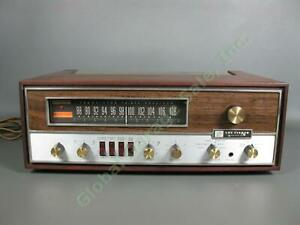 Vintage Fisher 500-T Transistor Series Stereo Radio Receiver Wood Tested Working