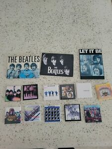 lot of Beatles magnets