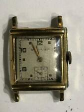WITTNAUER  17JEWEL   WRISTWATCH  NOT RUNNING    AS IS NO RESERVE