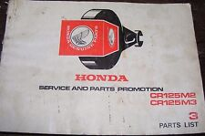 Honda CR125M2/CR125M3 Manual de lista de parte no. 3