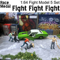 Race Medal 1:64 Scale Figures Diorama Outdoor Fighting Baseball Bat 1/64   !!