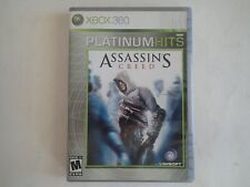 XBOX 360 ASSASSIN'S CREED Platinum Hits, 2007 UBISOFT, Rated M, Case w/Manual