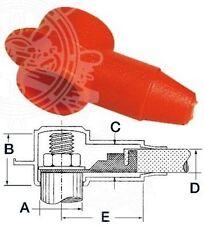 Cobo White Polycarbonate Single Cartridge Lamp Spotlight with Switch Osculati