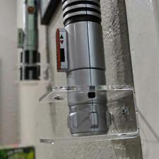 Lightsaber Vertical Wall Rack/ Multi-angle installation/Lightsaber Holder/Clear