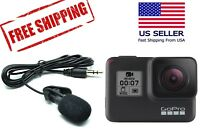 Active Clip 3.5mm External Microphone for GoPro Hero 7 Black