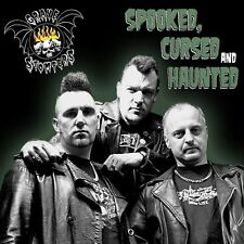Grave Stompers - Spooked, Cursed And Haunted  CD 12 Tracks Alternative Rock Neu
