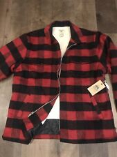 GRIZZLY - Wool Blend Jacket - XXL - 88760 - Red Plaid - $109