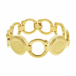 Bioflow Magnetic Therapy Brushed Gold Pirouette Bracelet - From Bioflow Direct