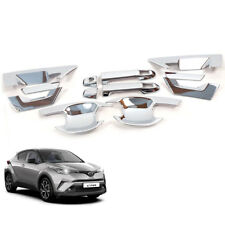 For 2018 Toyota C-HR CHR Doors Handle Hand Bowl Housing Cover Chrome
