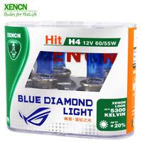 2x HALOGEN BULBS XENCN © H4 60/55W P43t 12V 5300K XENON EFFECT