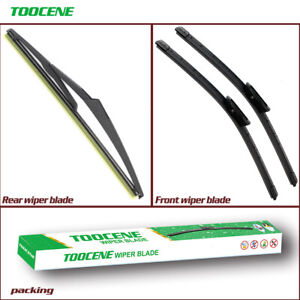 Front and rear Windshield Wiper blades for Smart  Fortwo A453 2014-2017