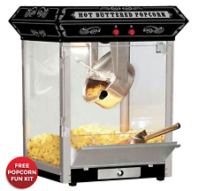 Tabletop Popcorn Machine 4oz Hot Oil (Black) New Free Shipping!