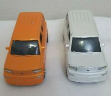 MATCHBOX 2004 Scion XB Orange / White Lot Of 2 Diecast Car Loose