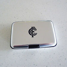 AFL Carlton Blues Metal Business Card Holder