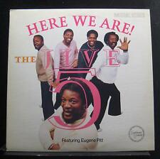 The Jive 5 Featuring Eugene Pitt - Here We Are! LP Mint- FZ 37717 Vinyl Record