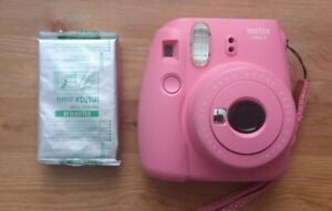 Fuji Fujifilm Instax Mini 9 Instant Camera - Flamingo Pink