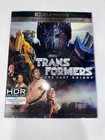 Transformers 5: The Last Knight 4K Ultra HD + Blu-ray Brand New