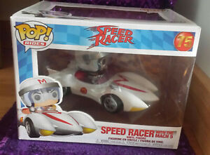 Funko Pop Rides Speed Racer with the Mach 5 #75