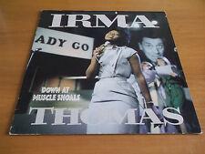 IRMA THOMAS DOWN AT MUSCLE SHOALS ORIG ITALIAN LP CHESS STEREO RARE!!!!!