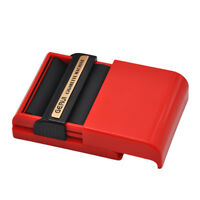 New Plastic Automatic Cigarette Roller Rolling Machine Box Case for 70MM Paper