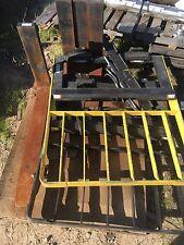 New Forklift Forks 5X2X42, Mast Guard, Fork Cylinder, One Lot