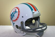 Bob Griese Style MIAMI DOLPHINS CUSTOM Game Suspension Vintage Football Helmet