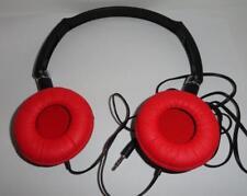 Sakar/Vivitar Foldable Headphones Model- SL1050-Red