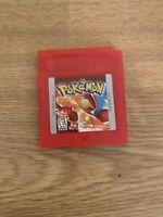 Pokemon Red Version (1998 - Original/Used) (Nintendo Gameboy Color GBC)