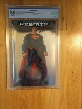 SUPERMAN #1 FOIL Exclusive SDCC Jim Lee convention Variant - DC REBIRTH - NM