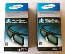 Lot of 2 SAMSUNG 3D Active Glasses  SSG-3050GB  NIB