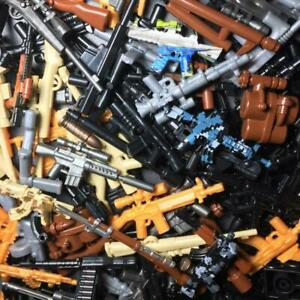 50PCS Lego Guns for Minifigure WW2 Military Army Weapon Lot