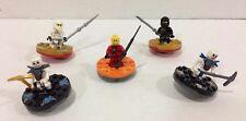Lego Ninjago Kai Bonezai Krazi Cole DX Zane DX Minifigures Spinner FREE Shipping