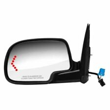 K-Source 62134G Driver Side Power Heated Mirror Black with Turn Signal Light