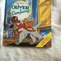 Walt Disney Oliver & Company - Souvenir Photo Book, Dog, Cat - Vintage