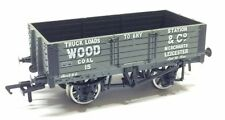 Bachmann Pt 37-080M #15 - 5 Plank Wagon 'Wood & Co.' Leicester Modelzone - NEW